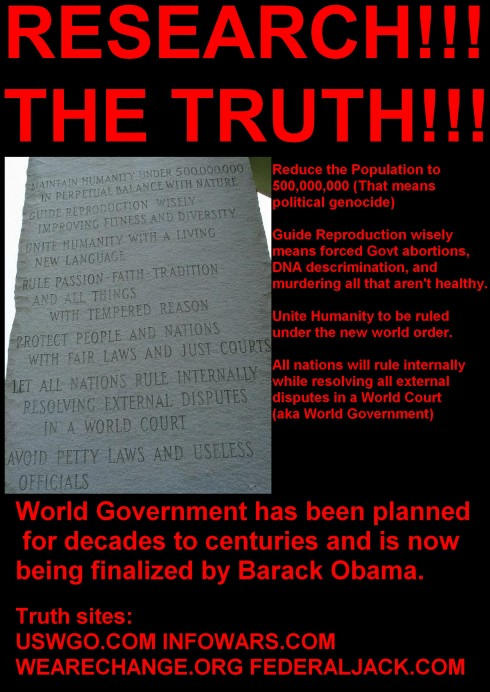 Research the truth know your facts.